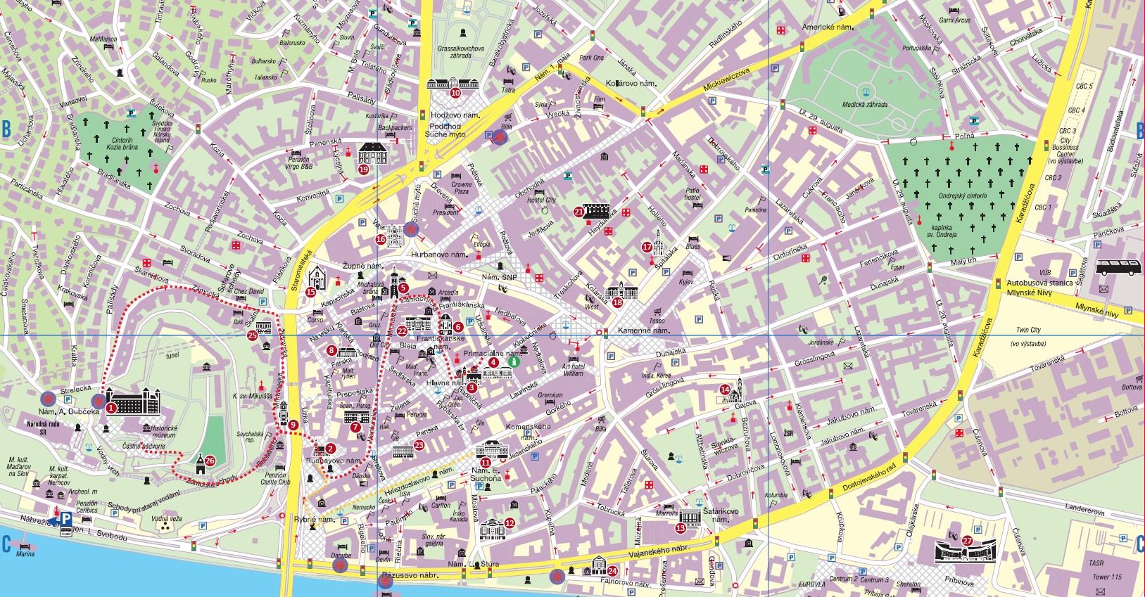 Mapa BA