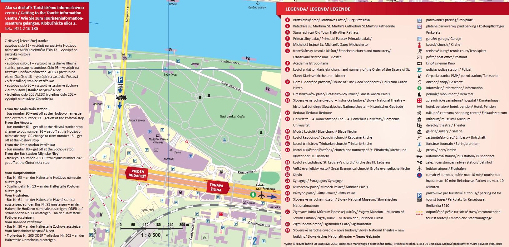 Mapa BA info